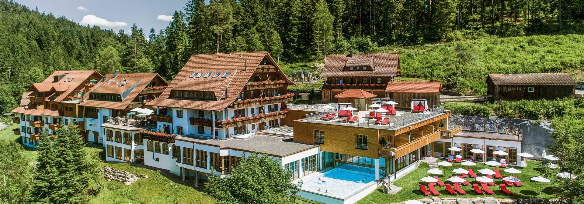 Ihr 4 wellnesshotel in baiersbronn forsthaus auerhahn for Hotel avec piscine foret noire